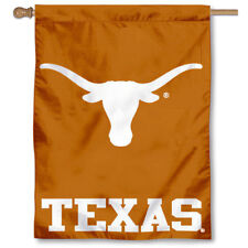 Texas Longhorns UT Horns University College House Flag