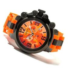 INVICTA MENS COALITION FORCES TRIGGER CHRONOGRAPH CAMO ORANGE STRAP WATCH 11677