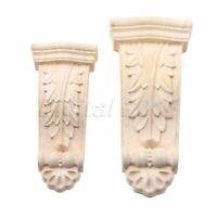 3 Size Woodcarving Decal Leg Feet Applique Cabinet Wardrobe Furniture Decoration