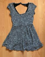 NWOT American Eagle Outfitters Knit Black/White Fit & Flare Dress – Size XS