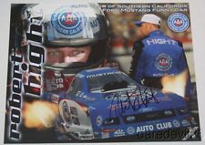 2007 Robert Hight signed AAA Ford Mustang Funny Car NHRA postcard
