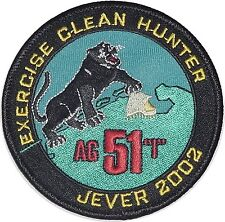 "Patch Patch fuerza aérea AG 51 ""Immelmann"" exercise Clean Hunter... a2961"