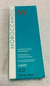 AUTHENTIC Moroccanoil Light Treatment 3.4oz /100ml =FAST FREE SHIPPING=