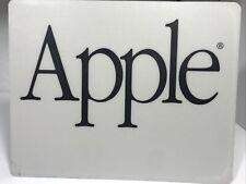 New listing Genuine Vintage Apple Mouse Pad Gray BlackComputer