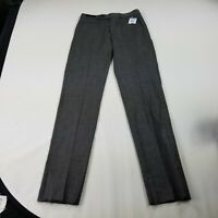 FLYING CROSS//FECHHEIMER MENS GREY PANTS SIZE 30-48 UNHEMMED UMPIRE TROUSER PANTS