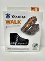 Yaktrax Walk Traction Cleats for Walking on Snow/Ice Size Med. 08686 NEW