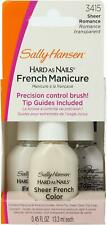 Sally Hansen Hard As Nails French Manicure Set #3415 Sheer Romance (3 Pack)