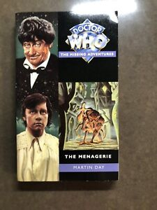 Doctor Who The Missing Adventures The Menagerie Martin Day New