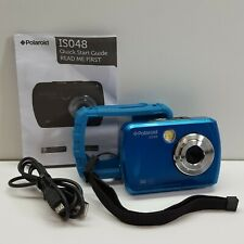 Polaroid isO48 16MP Waterproof Digital Camera, Blue (TURQUOISE) IS048-BLUE F2000