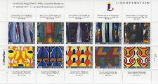 Liechtenstein 2015 Ferdinand Nigg Kunst Sonderbogen Nr. 4 ** MNH