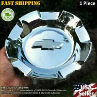 1pcs NEW 2007-2013 SILVERADO TAHOE AVALANCHE SUBURBAN WHEEL CENTER CAPS CHROME
