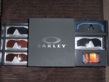 Oakley Radar boxset Distressed Blue frame with four lenses Special Edition BNIB