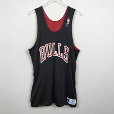 Vtg Champion Chicago Bulls Reversible Practice Jersey XL Mesh Basketball NBA 90s