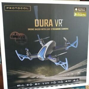 Brand New Protocol DURA VR Drone Racer with Camera and Extra Battery