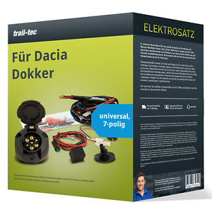 Elektrosatz 7-pol universell für DACIA Dokker 09.2017-jetzt NEU