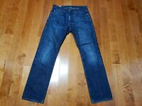 J.Crew 1040 Kaihara Indigo Denim dark wash Jeans Japan men Size 30x31 measured