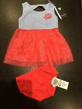 Cute Guess Baby Girls Dress Set Age 12 Months NEW