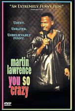 MARTIN LAWRENCE - YOU SO CRAZY DVD