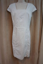 Marc New York By Andrew Marc Dress Sz 12 Nimbus Beige Cap Sleeve Business Dress