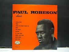 "PAUL ROBESON Chante Ol man river ...  VDSM FFLP 1081 25 cms 10"""