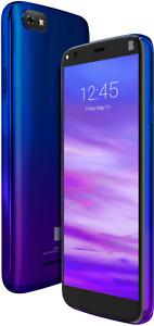 Brand New GSM Worldwide Unlocked BLU V5 4G LTE 32GB Dual SIM -Twilight/Black