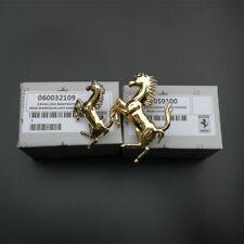 Ferrari 458 Italia&Spider Front&Rear Bumper Horse Badg Emblem Kit Gold New