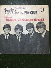 Beatles Fan Club Christmas Record December 1964