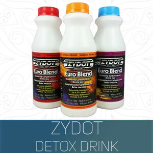 Zydot Euro Blend Urine Purifying Drug Test Detox Carbohydrate Drink / 3 Flavours