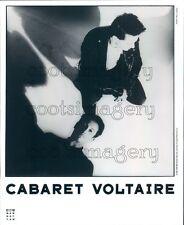 1987 British Synthpop Band Cabaret Voltaire Stephen Mallinder Press Photo