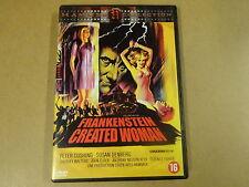 DVD / FRANKENSTEIN CREATED WOMAN ( PETER CUSHING, SUSAN DENBERG... )