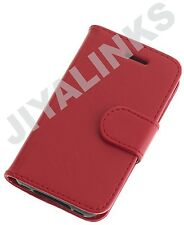 WALLET CASE COVER PU LEATHER FOR APPLE iPHONE 4 4S 5 5S  6 & 6plus 9 COLOUR