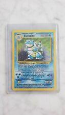 1999 Blastoise Base Set Holographic Pokemon Card 2/102 Near Mint