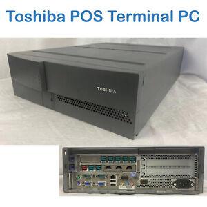 Toshiba  PC Computer Intel  G540 2.5Ghz 4GB Ram 160GB Powered USB Desktop  POS