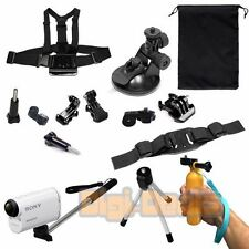 13  in 1 Outdoor Sports Accessory Bundle  For SONY Action Cameras HDR-AS15 AS20