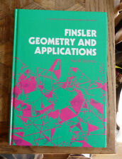 AUREL BEJANCU FINSLER GEOMETRY AND APPLICATIONS  ELLIS HORWOOD 1990