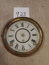 ANTIQUE SESSIONS  MANTLE CLOCK DIAL & BEZEL WITH GLASS
