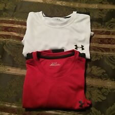 Under Armour t shirt Men's L LARGE  Lot of 2  Long Sleeves