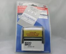 Cosco 2000 Plus Jumbo 3 message stamp PAID RECEIVED and FAXED Pad Free Ship