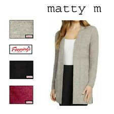 SALE NEW Matty M Ladies' Comfy Cardigan - VARIETY SIZE/COLOR C21