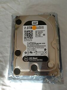 Western Digital WD Caviar Black 2TB 3.5 Inch Internal Hard Disk WD2003FZEX