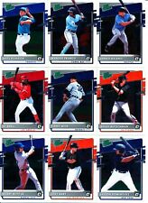 2020 Donruss Optic - RATED PROSPECTS INSERTS - Card #s 1-20 - U Pick From List