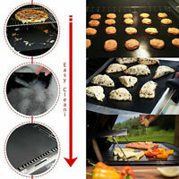 BBQ GRILL MAT set of 2 sheets, Reusable, Non-stick, Make Grilling Easy BBQ