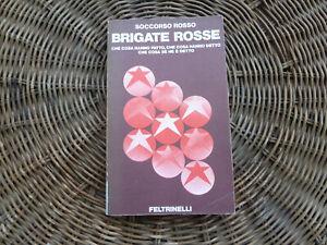 BRIGATE ROSSE SOCCORSO ROSSO PRIMA EDIZIONE