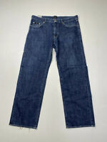 HUGO BOSS STRAIGHT Jeans - W38 L32 - Navy - Great Condition - Men's