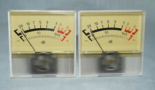 2 pcs VU meter Power Amplifier Panel dB Audio Level made USSR and  NOS !