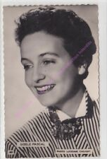CPSM RPPC STAR GISELE PASCAL PHOTO LUCIENNE CHEVERT Edt P.I.461 N1