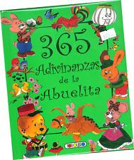 """LIBRO """"365 ADIVINANZAS DE LA ABUELITA"""", EN ESPAÑOL"""