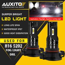 2X 5202 LED Fog light Bulb For GMC Sierra 1500 2500 HD 2009 2010 2011 2013 2014