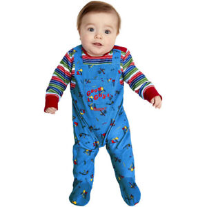 Baby Chucky Costume Official Fancy Dress