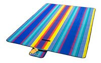 Quality Sand Washable Picnic Blanket Waterproof Mat Outdoor Rug Beach Camping AU